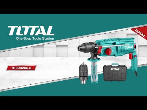 Rotomartillo SDS PLUS 800W, 110V-120V~60Hz, 0-4000bpm, 2.5J, 0-1100 rpm.