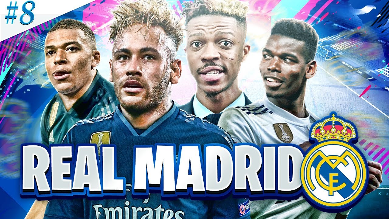 THE FINALE!! REBUILDING REAL MADRID!! FIFA 19 Career Mode (Episode 8)