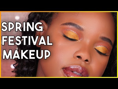 Spring Festival Makeup + Trying New Products From Elf Cosmetics, Covergirl + MORE