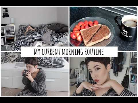 My current morning routine : Summer 2016