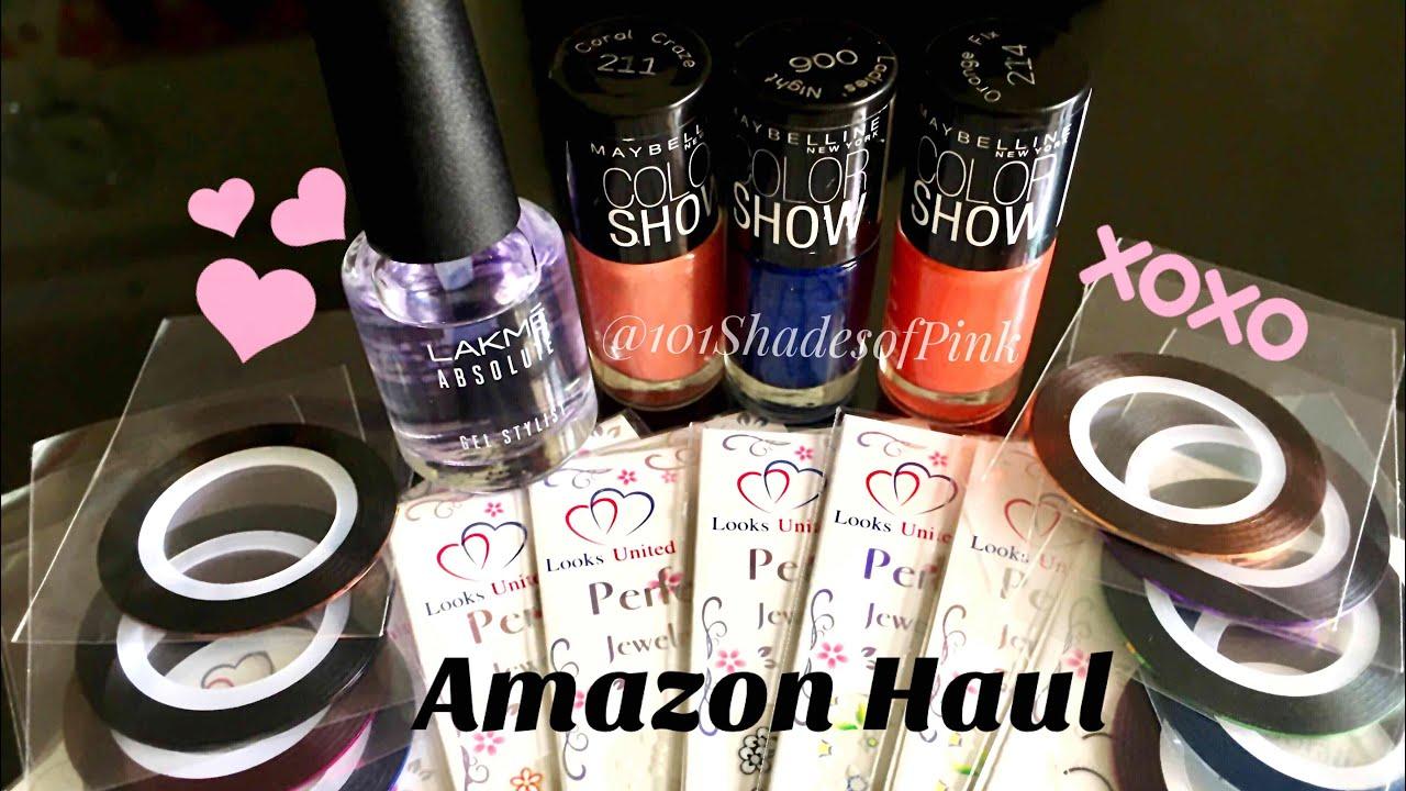 Amazon Nail art Supplies Haul/ #Mondaymails - YouTube