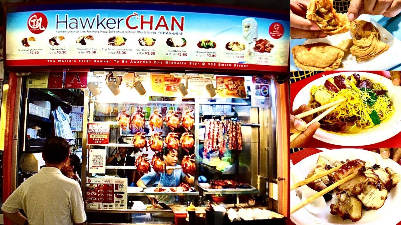 CHEAPEST MICHELIN STAR | EP - 01 | Chicken Rice & Noodle | Curry Puff | Singapore