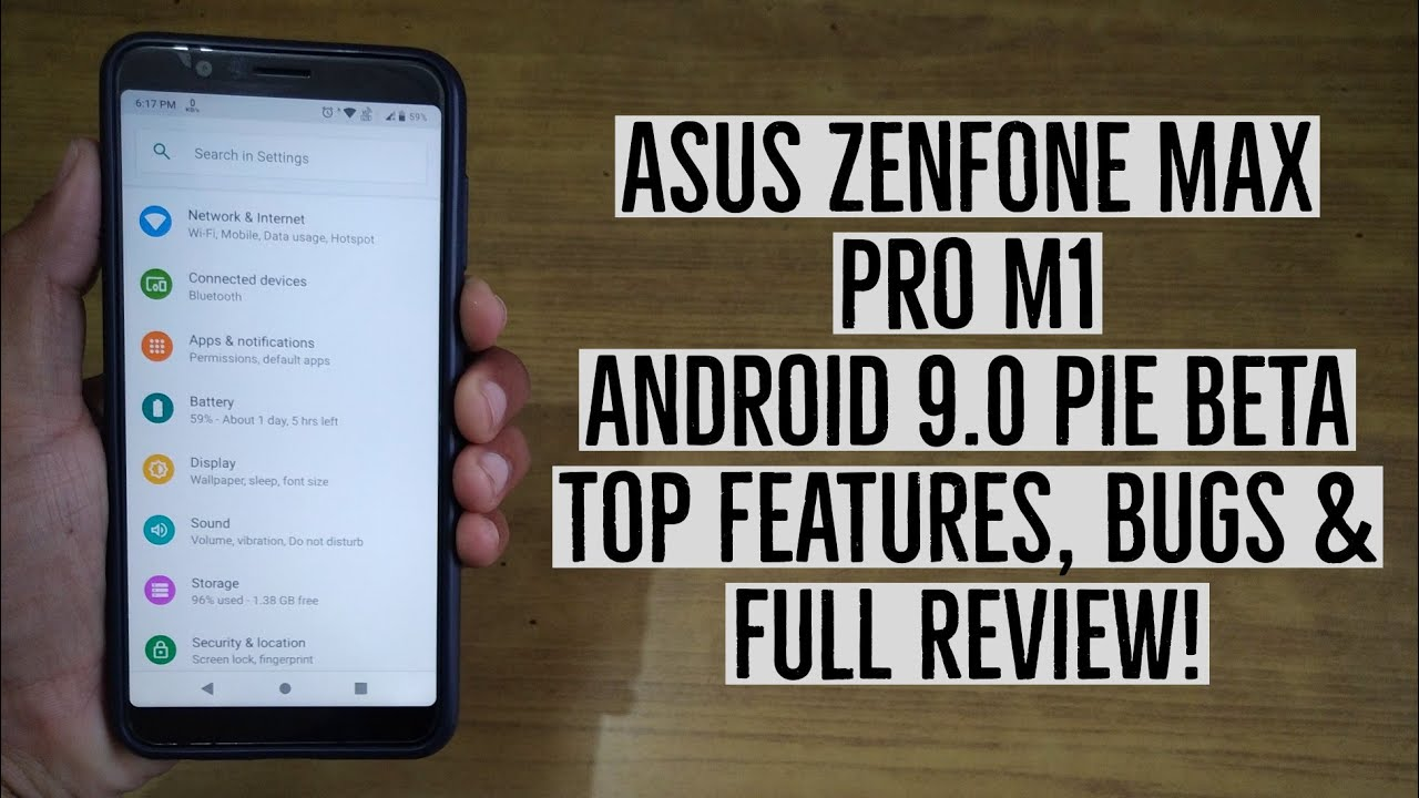 Asus Zenfone Max Pro M1 Android 9 0 Pie Beta Features, Bugs & Full Review!