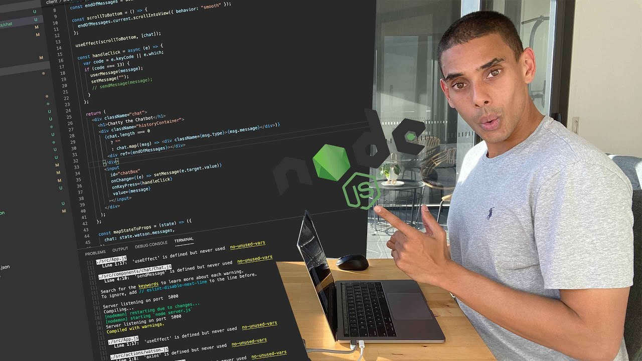 Build a Chatbot Application with Node.js