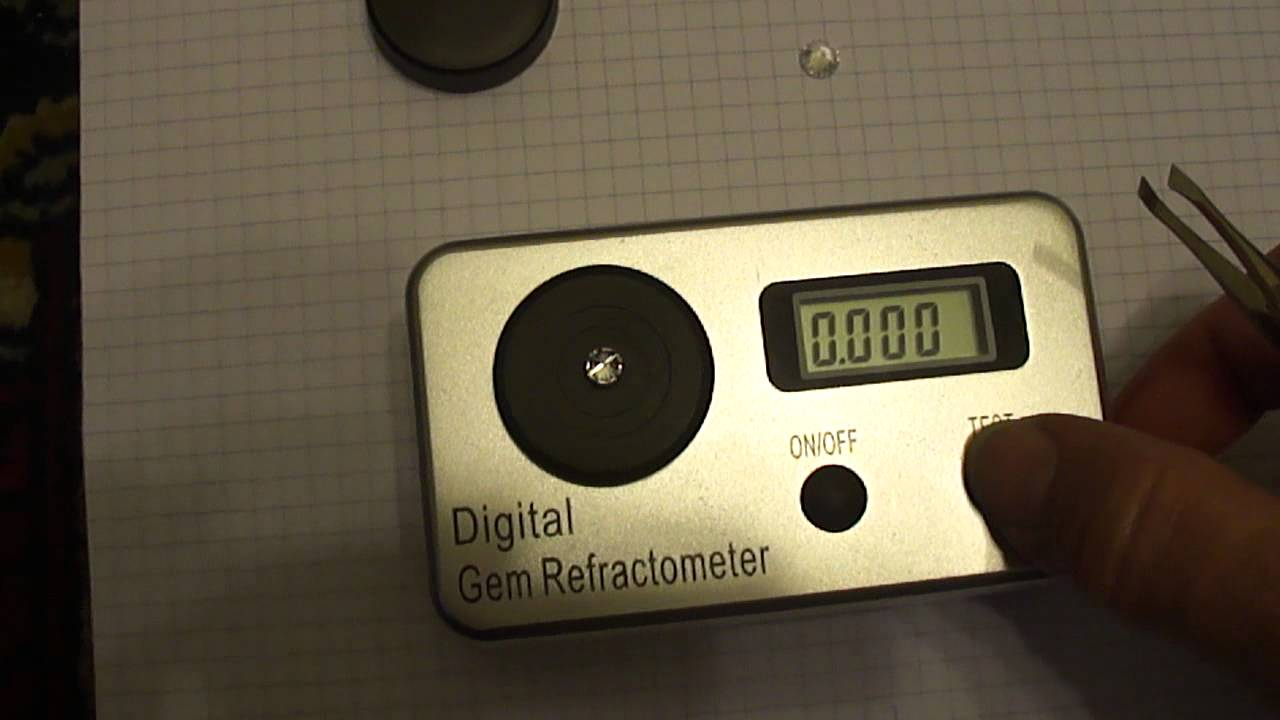 Digital gemstone refractometer problems