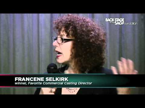 CD Francene Selkirk at Back Stage Readers' Choice Panel (Part 1)