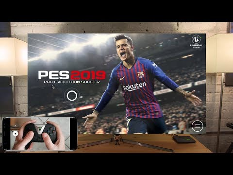 PES 2019 On Shield Android TV With Hardware Controller