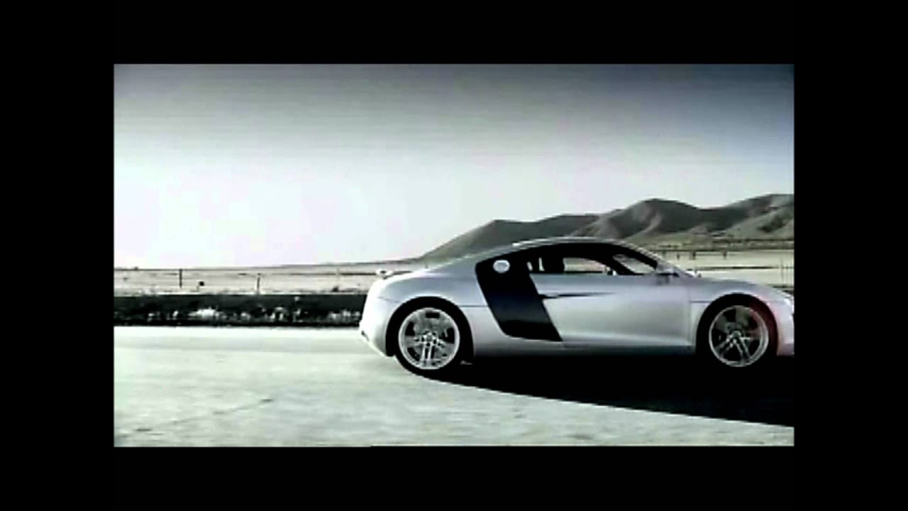 Audi R Official Commercialvideo YouTube - Audi r8 commercial