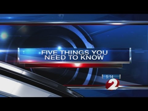 5 Things you need to know: Oct. 17