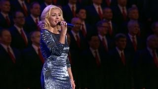Repeat youtube video Mormon Tabernacle Choir featuring Katherine Jenkins