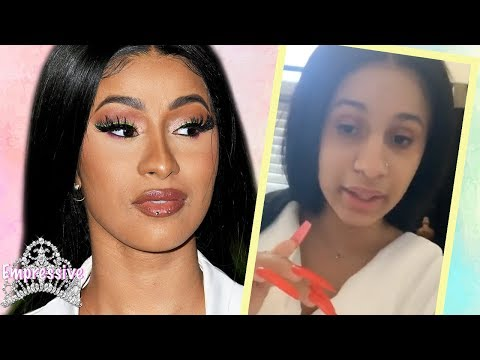 Cardi B claps back at the Empressive Channel  My Response