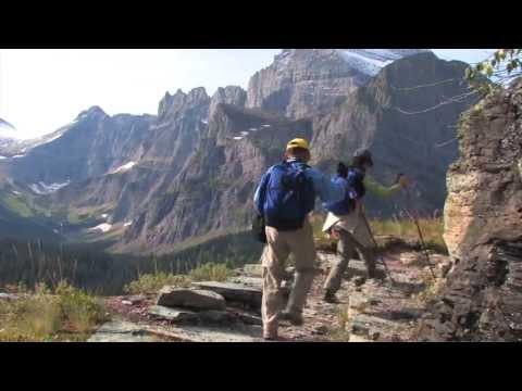 Grinnell Glacier Trail, Glacier NP: Travel Guide Sample. Buy 90 min disc or download