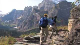 "Grinnell Glacier Trail, Glacier National Park: DVD -Blu-ray Sample ""The West is Big!"" series"