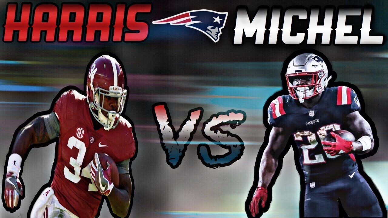Sony Michel Vs Damien Harris Which Rb Has Bigger Role This Season With The Patriots Youtube