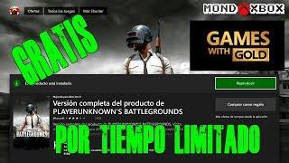 Juega GRATIS por tiempo limitado PUBG en Xbox One con Xbox Live Gold |MondoXbox