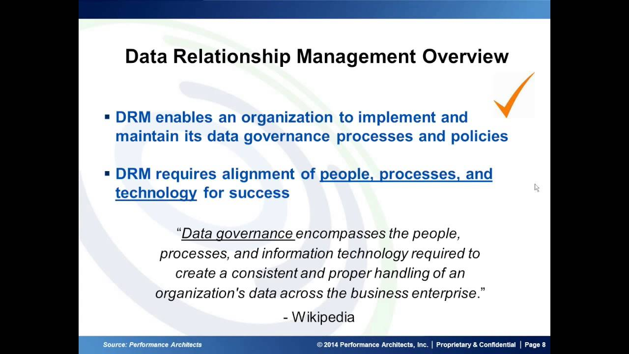 Data Relationship Management: How to Maintain Heirarchies, Chart of  Accounts, Master Data Resources
