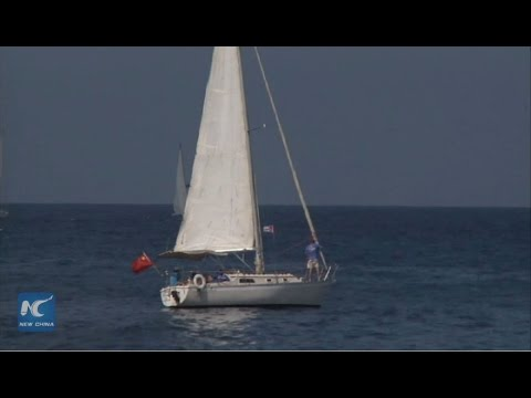 Chinese sailor won 6th place in Cuban yacht match offshore