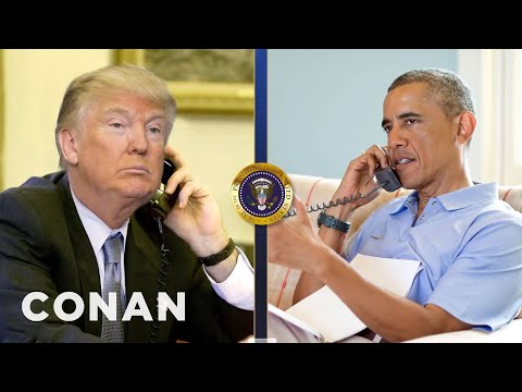 Trump Calls Obama To Complain About Nordstrom  - CONAN on TBS