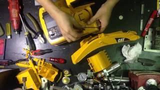 bruder excavator rc conversion  Part 1