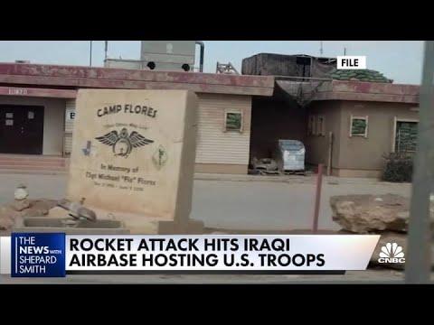 Rocket Attack Hits Iraqi Airbase Hosting U.S. Troops