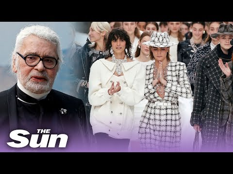Lagerfeld's last Chanel show: Paris Fashion Week 2019