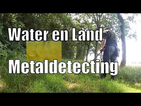 Hunting Coins land en water hunt en jawel, weer zilver met de XP Deus metaaldetector