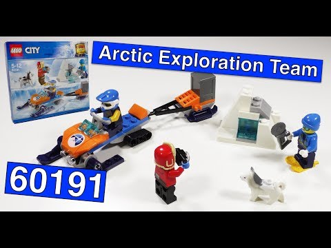 LEGO CITY 60191 Arctic Exploration Team / Арктическая экспедиция