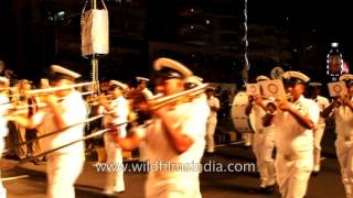 International City Parade during International Fleet review in Visakhapatnam