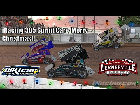 iRacing 305 Sprint Cars at the new Lernerville Speedway