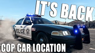 POLICE CAR IS BACK Abandoned Car Location | Need for Speed Payback