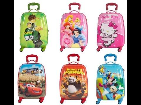 Kids Luggage On Wheels - YouTube