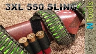 DIY 3XL 550 Triple Cobra Weave Gun Sling Shotgun / Rifle How to Step by Step Instructions