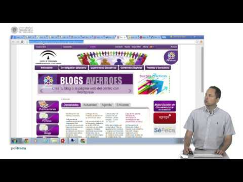 Tecnologías Educativas. Herramientas: Más recursos educativos multimedia España.© UPV