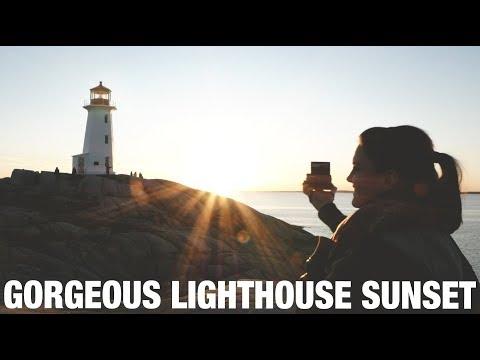 SUNSET AT PEGGY'S COVE | NOVA SCOTIA