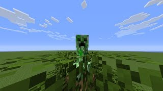 Repeat youtube video Ciencia en Minecraft, Los creepers dropean mas manzanas?
