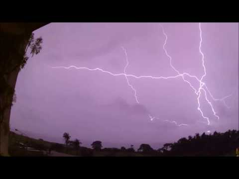 Night + Daytime Thunderstorms/Lightning in The Gambia - September 2016
