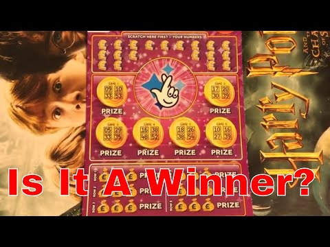 Winning Video From National Lottery Sratch Cards By NL Dreams (017)