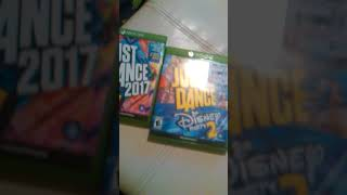 Mario kart 8, Just dance 2017, and Just dance Disney party 2 review!!