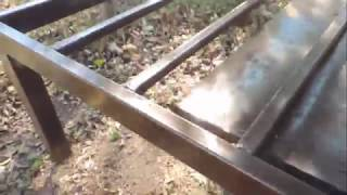 кровать на металическом каркасе своими руками ч 2