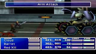 Final Fantasy VII - Boss 8 - Motor Ball