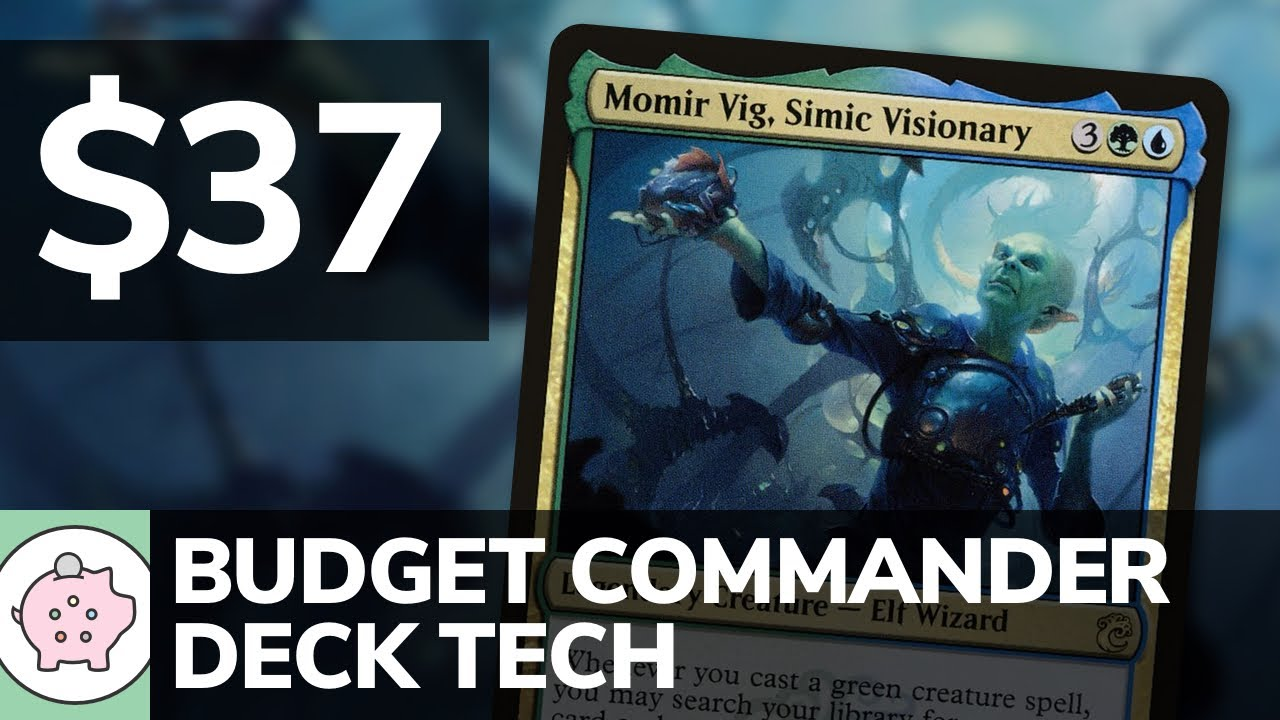 Momir Vig, Simic Visionary | Budget Commander Deck Tech $37 | Clones | EDH | MTG | Commander