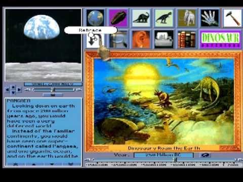 Dinosaur Adventures 1993 DOS Game