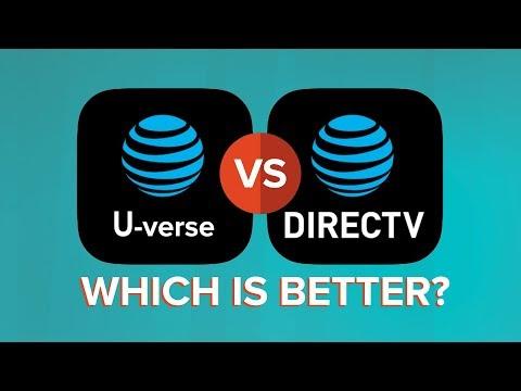 Compare AT&T U-verse vs DIRECTV (Versus)