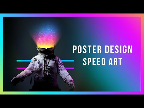 Freestyling a Poster | Graphic design tutorial