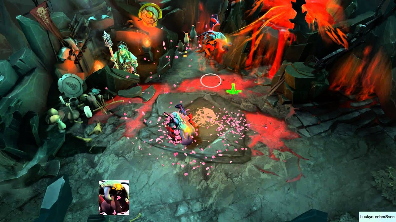 Dota 2 Courier Preview Unusual Baby Roshan Trail Of The