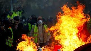 """Akt 14 der """"Gelbwesten"""": Frankreich rüstet sich"""