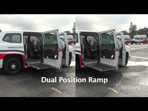 New MV-1 MetroAccess Vehicle Debut | WMATA