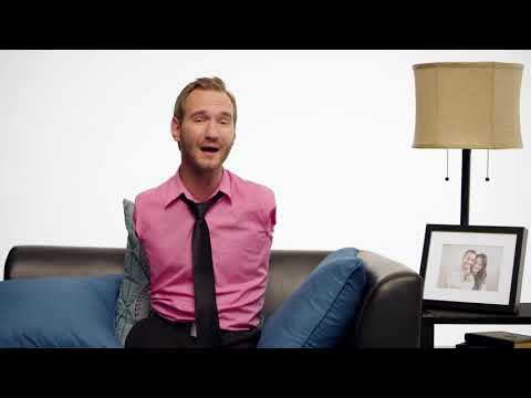 Inspiring millions and changing the lives of many // Nick Vujicic