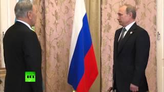 Владимир Путин встретился с Нурсултаном Назарбаевым на саммите ШОС