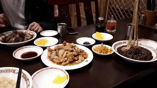 서울 명동 중국집에서 짜짱 탕수육 저녁식사